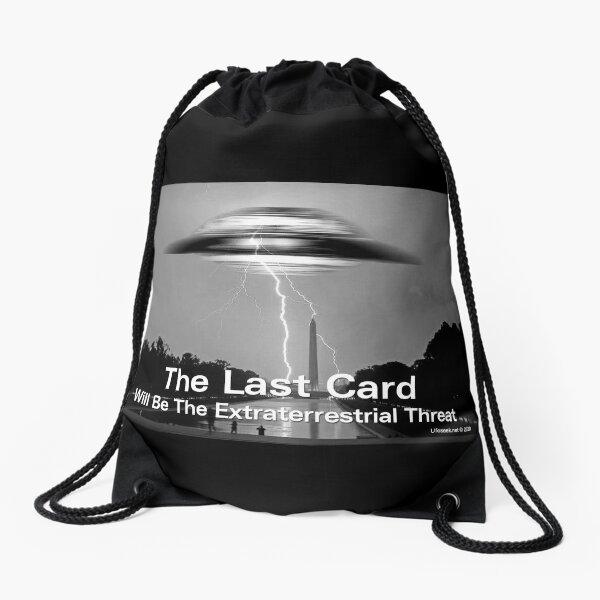 The Last Card Drawstring Bag
