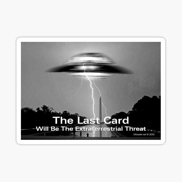 The Last Card Sticker