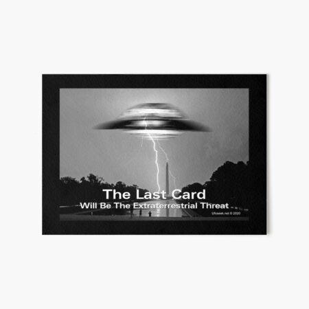 The Last Card Art Board Print