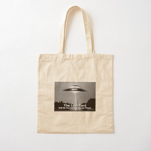 The Last Card Cotton Tote Bag