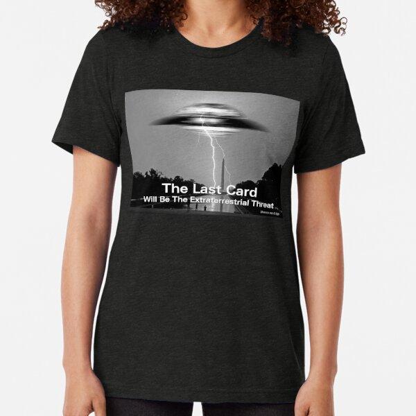 The Last Card Tri-blend T-Shirt