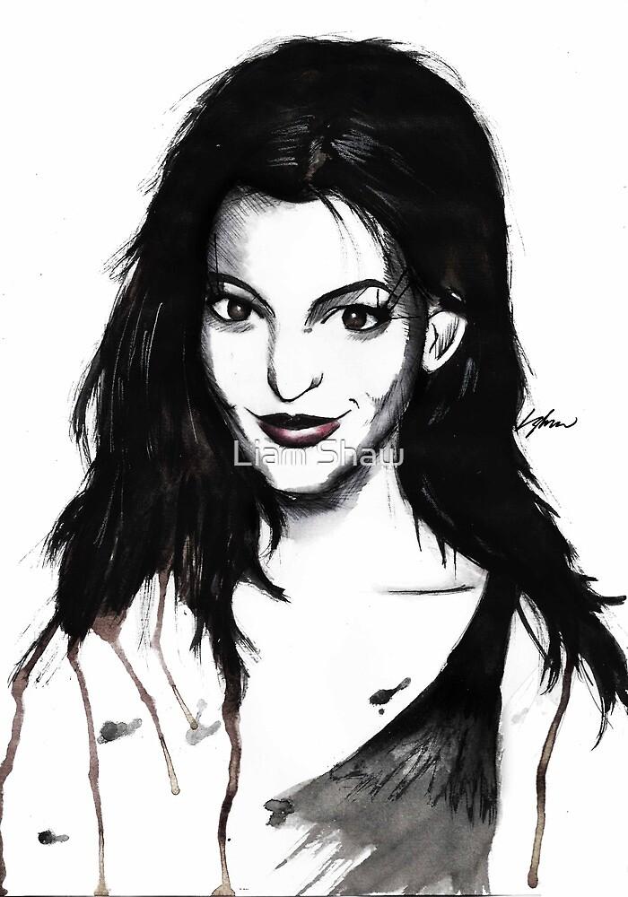 Anne Hathaway. by LiamShawberry