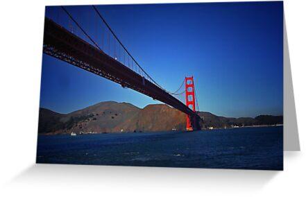 Golden Gate Bridge by Analia Vulich