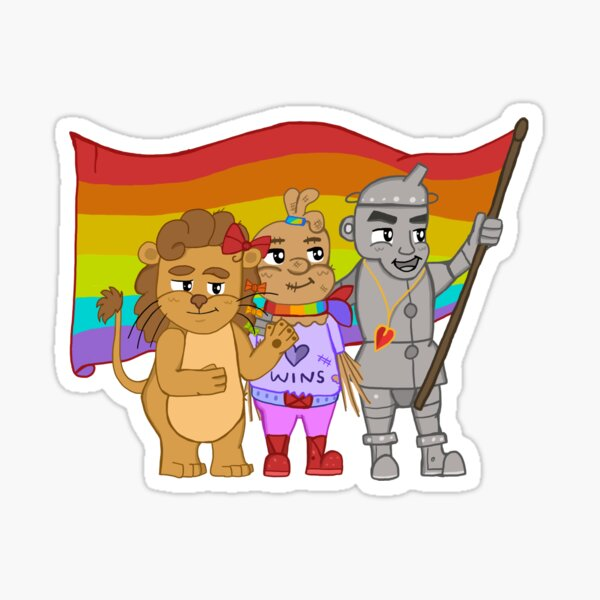Friends of Dorothy - The Wizard of Oz, Pride Sticker
