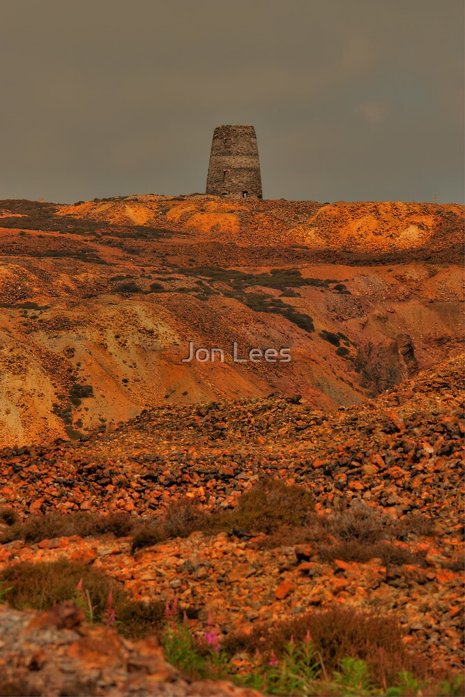 Parys Mountain, Copper Mine, Amlwch, Anglesey, Wales by Jon Lees