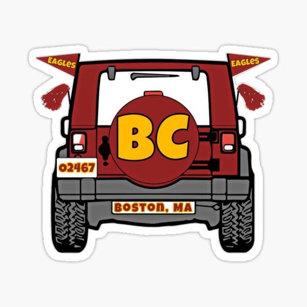 Boston College Jeep Sticker