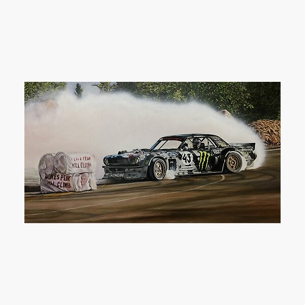 Hoonicorn Drift Car Photographic Print