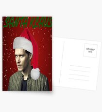 The Vampire Diaries - Santa Klaus Christmas Card Postcards
