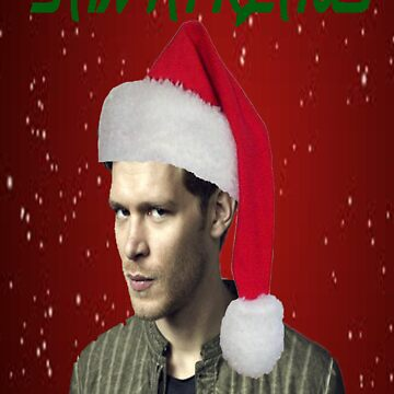 The Vampire Diaries - Santa Klaus Christmas Card by rachick123