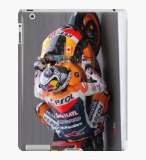Andrea Dovizioso in Mugello 2011 iPad Case/Skin
