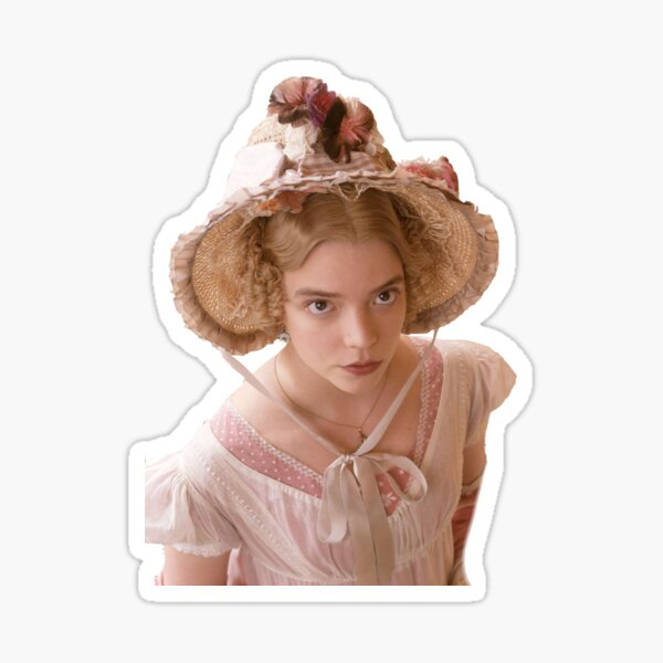 Emma (2020)- Mr. Knightley & Emma Woodhouse Sticker