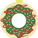 Christmas Doughnut by Natasha Curran