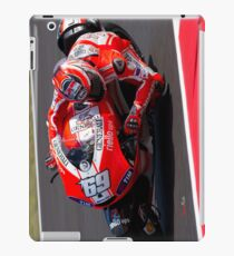 Nicky Hayden in Mugello 2011 iPad Case/Skin