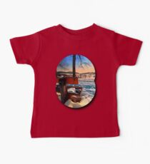 View into winter scenery Baby Tee