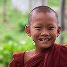 Hpa-An: Novice Monk by Hege Nolan