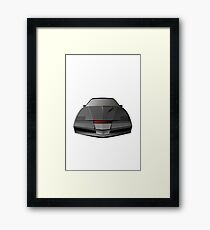 Knight Rider KITT Car  Framed Print
