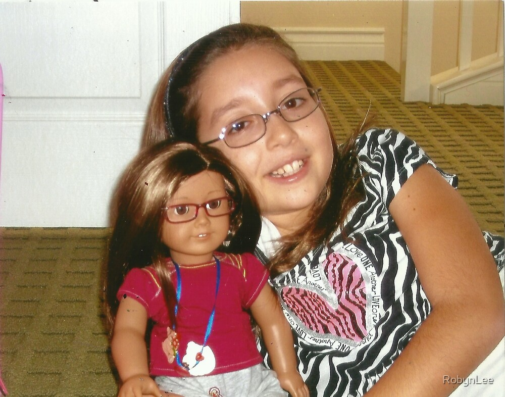"""Presenting Alexandra & her """"Mini-Me"""" Alexis:-)! by RobynLee"""