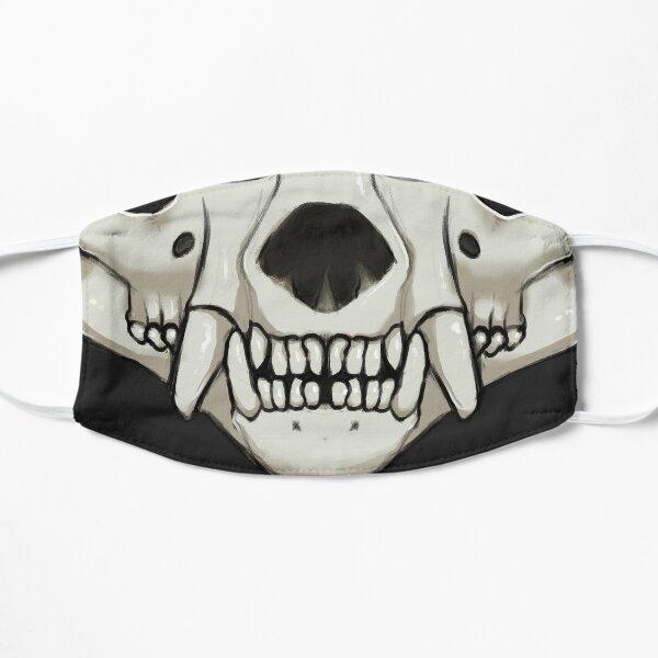 Tasmanian devil skull Flat Mask