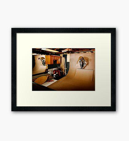Christopher - Smith Tail Block - Chicago - Photo Bart Jones Framed Print