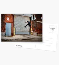 Marty Murawski - Frontside Flip - Chicago - Photo Bart Jones Postcards