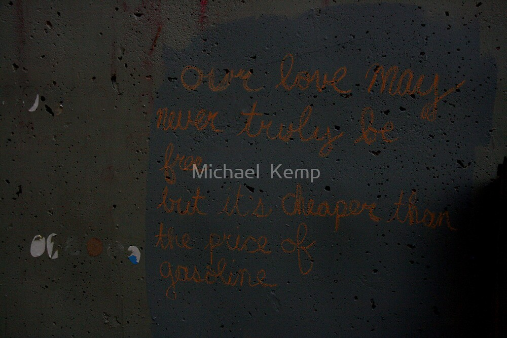 Graffiti Love by Michael  Kemp