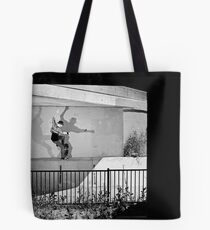 Patrick Melcher - Bluntslide to Fakie - Sacramento - Photo Bart Jones Tote Bag