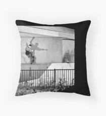 Patrick Melcher - Bluntslide to Fakie - Sacramento - Photo Bart Jones Throw Pillow