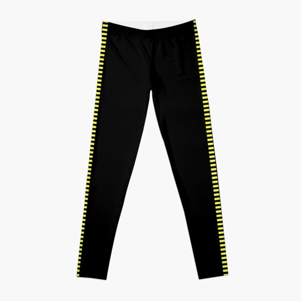 Corellian Blood Stripe - Yellow on Black (Han Solo) Leggings