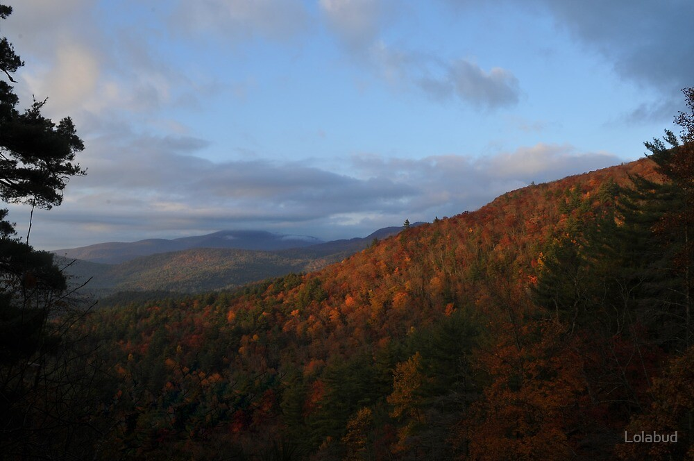 Fall in the Blue Ridge by Lolabud