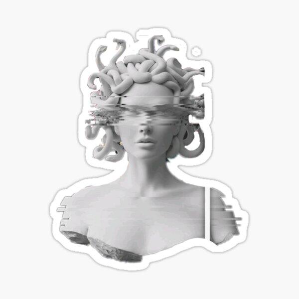 Marble Medusa Sticker