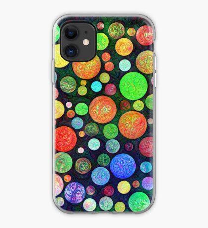 #DeepDream Color Squares Circles Visual Areas 5x5K v1448464170 iPhone Case
