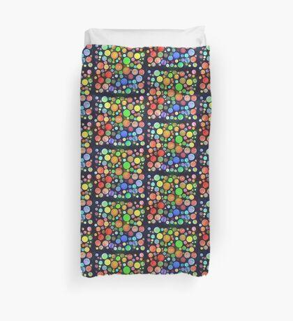 #DeepDream Color Squares Circles Visual Areas 5x5K v1448464170 Duvet Cover