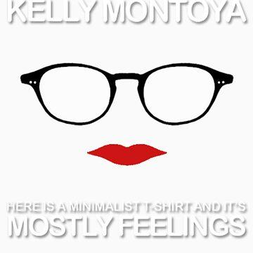 Mostly Feelings Album T-Shirt  by kellymontoya