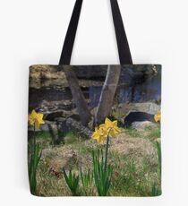 Daffodil banks Tote Bag
