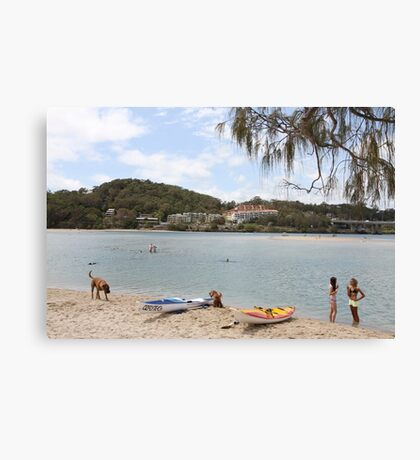 A Great Place To Live Canvas Print