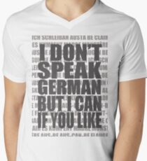 Scheiße 1 Men's V-Neck T-Shirt