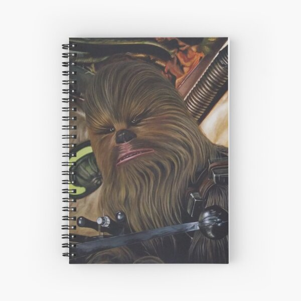 H. Solo and Chewb. Returns Spiral Notebook