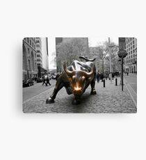 Lienzo Wall Street Bull