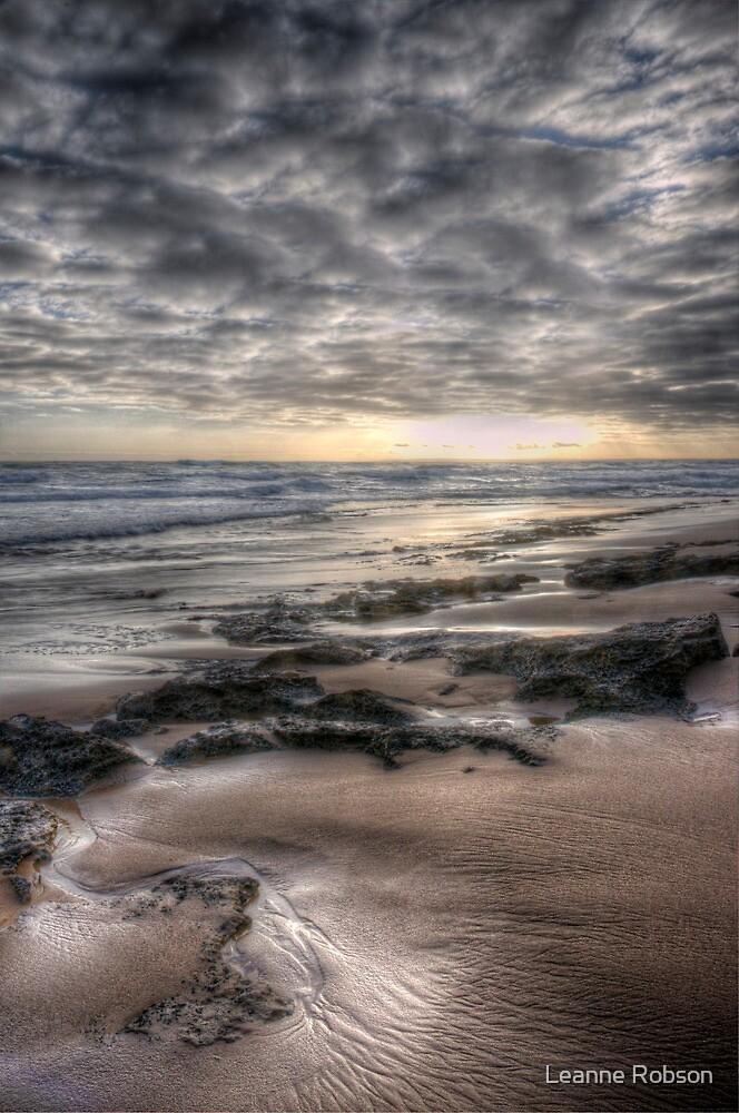 Barwon Heads Back Beach #6 by Leanne Robson