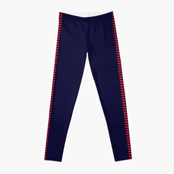 Corellian Blood-stripe - Red on Blue (Han Solo) Leggings