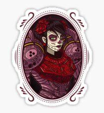 Dia de los Metroides Sticker