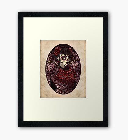 Dia de los Metroides Framed Print