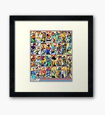 G.I. Joe in the 80s! (Version B) Framed Print
