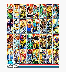 G.I. Joe in the 80s! (Version B) Photographic Print