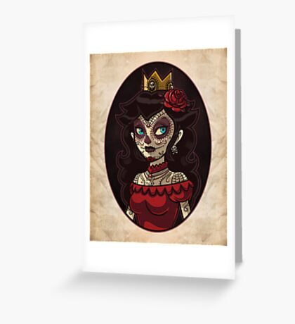 Dia de la Princesa Greeting Card