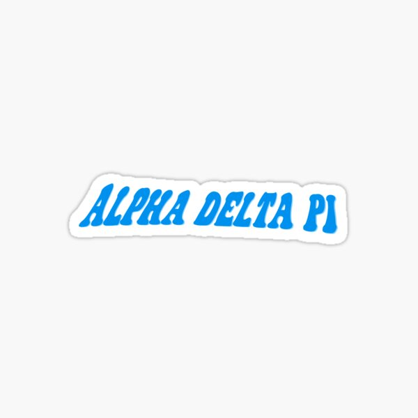 Alpha Delta Pi Sticker