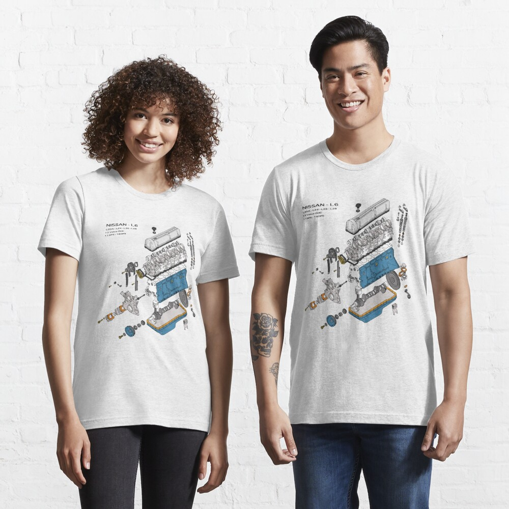 Nissan L6 Exploded View Essential T-Shirt