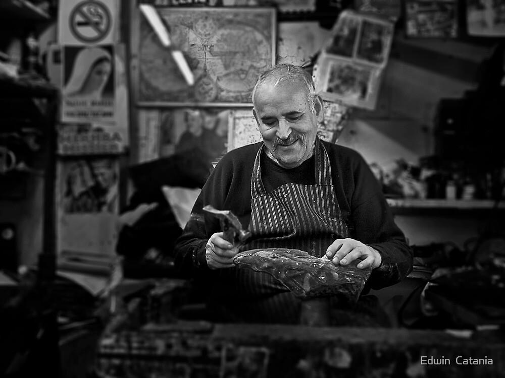 Freddie -- The Cobbler Rabat Malta by Edwin  Catania