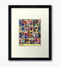 G.I. Joe in the 80s!  Cobra Edition! (Version B) Framed Print