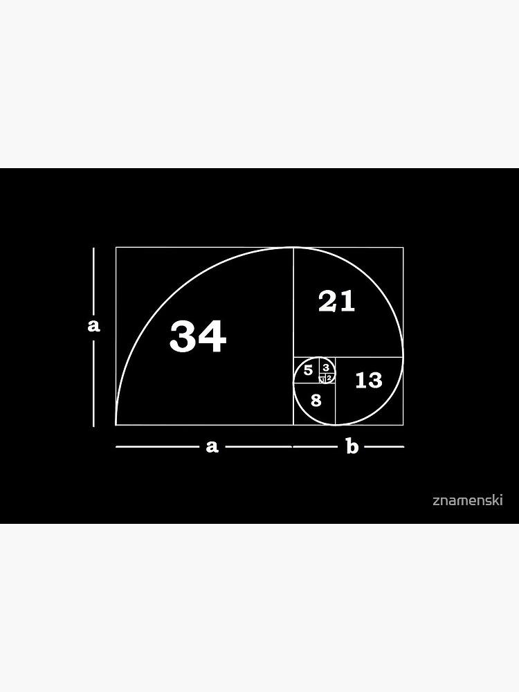 #Golden #Ratio #GoldenRatio #Design Ideas Fibonacci Spiral = 1.6180339887498948420 by znamenski